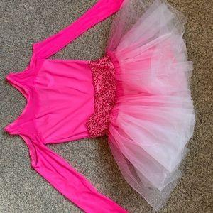 Other - Girls pink dance/hip hop leotard costume